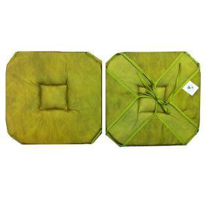coussin de chaise avec rabat achat vente coussin de chaise avec rabat pas cher cdiscount. Black Bedroom Furniture Sets. Home Design Ideas