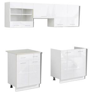ensemble meuble de cuisine achat vente ensemble meuble de cuisine pas cher cdiscount. Black Bedroom Furniture Sets. Home Design Ideas