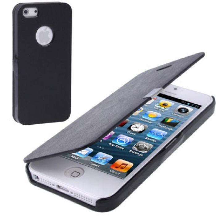 Etui iphone 5 housse de protection rabat achat coque for Etui housse iphone 5