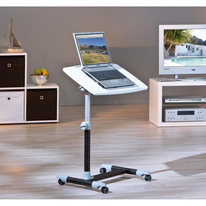 console blanche pour ordinateur. Black Bedroom Furniture Sets. Home Design Ideas