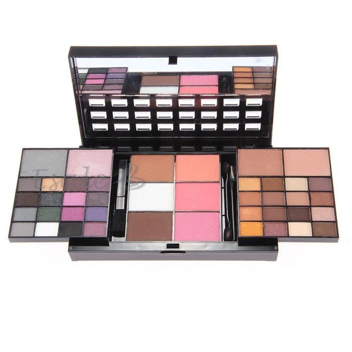 Palette de maquillage palette 74 couleurs fard ombres - Palette de maquillage pas cher ...