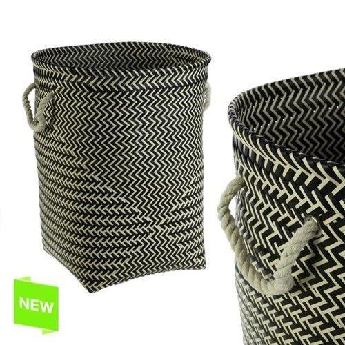 panier a linge osier noir achat vente panier a linge panier a linge osier noir soldes d. Black Bedroom Furniture Sets. Home Design Ideas