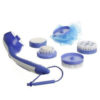 brosse spa de massage 5 tetes interchangeables achat vente aide hygiene brosse spa de. Black Bedroom Furniture Sets. Home Design Ideas