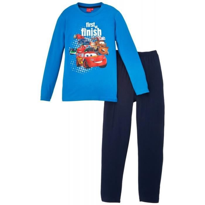 disney pyjama cars bleu 3 ans achat vente chemise de nuit cdiscount. Black Bedroom Furniture Sets. Home Design Ideas