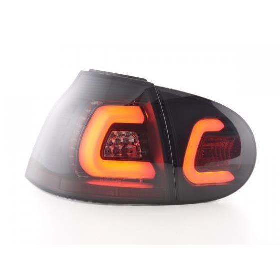feux arriere led vw golf 5 an 03 08 noir achat vente phares optiques feux arriere led vw. Black Bedroom Furniture Sets. Home Design Ideas