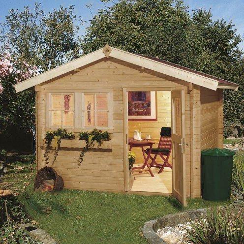 Abri de jardin en bois amadaus 9m avec planche achat vente abri jardin - Vente abris de jardin en bois ...