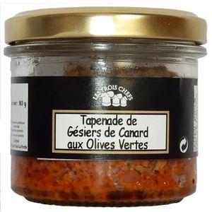 BISCUITS APÉRITIF Lot de 3 Tapenades de Gésiers de Canard aux olives