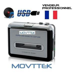 BALADEUR CD / CASSETTE Lecteur cassette K7 - convertisseur lecteur MP3  M