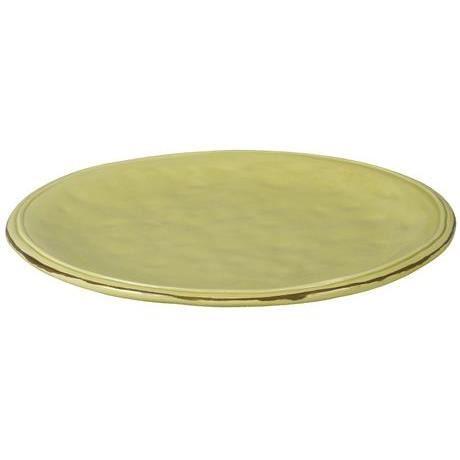 2 assiettes plates vert anis en faience25 2cm achat vente service complet cdiscount. Black Bedroom Furniture Sets. Home Design Ideas