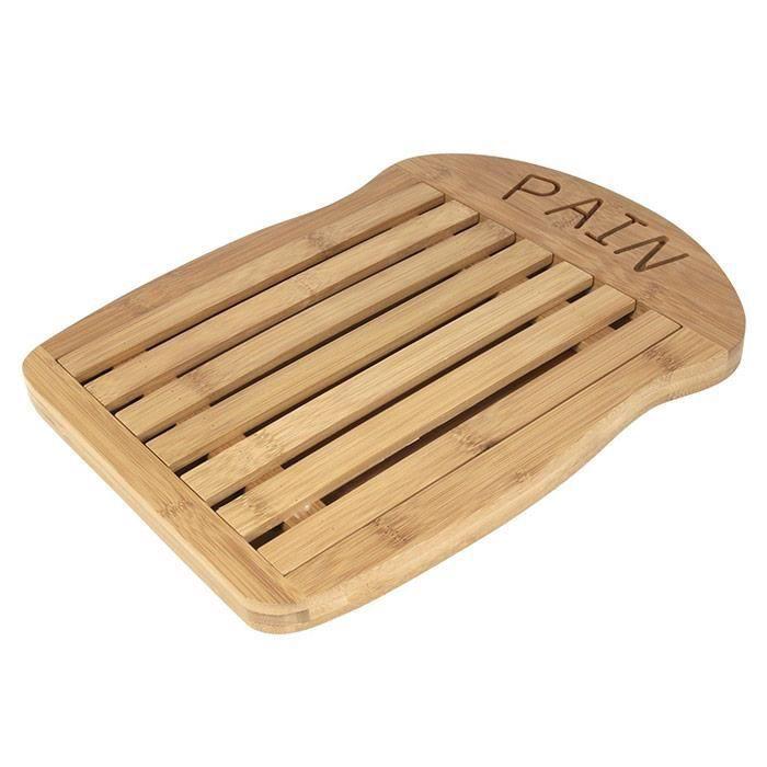 planche d couper le pain design bambou achat vente planche a d couper planche. Black Bedroom Furniture Sets. Home Design Ideas