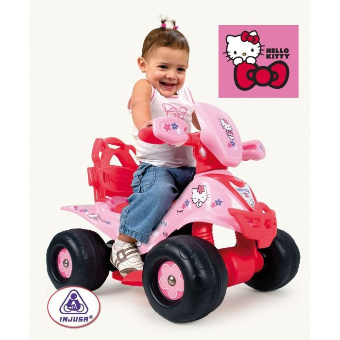 hello kitty quad electrique achat vente quad kart buggy cdiscount. Black Bedroom Furniture Sets. Home Design Ideas