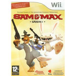 JEUX WII SAM ET MAX / Jeu console Wii (UK)