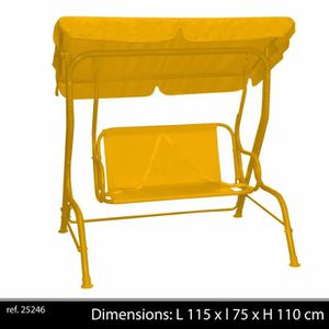 balancelle enfant jardin achat vente balancelle enfant. Black Bedroom Furniture Sets. Home Design Ideas