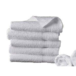 SERVIETTES DE BAIN 10 serviettes de bain 50x100 cm 500gr/m² pur coton