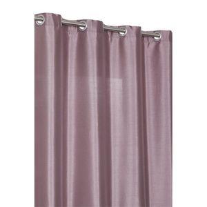 rideaux lilas achat vente rideaux lilas pas cher cdiscount. Black Bedroom Furniture Sets. Home Design Ideas