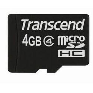 CARTE MÉMOIRE Transcend Carte micro Sd 4 go pour Sonyericsson X1