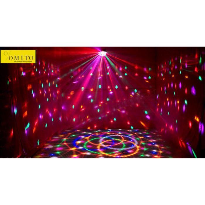 jeu de lumi re dj nouveaux club disco dj party eclairage laser avis et prix pas cher cdiscount. Black Bedroom Furniture Sets. Home Design Ideas