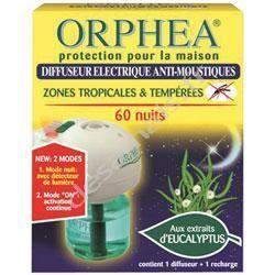 orph a diffuseur lectrique 60 nuits capteur optique achat vente produit insecticide orph a. Black Bedroom Furniture Sets. Home Design Ideas