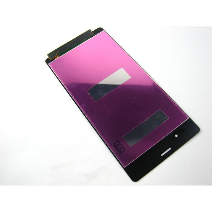 lcd ecran exposer touche tactile digitizer pour sony xperia z3 d6603 d6616 d6633 noir achat. Black Bedroom Furniture Sets. Home Design Ideas