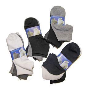 CHAUSSETTES Lot de 12 paires chaussettes Socquettes Uni Homme