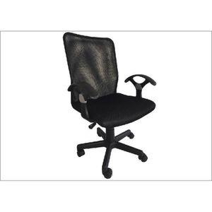 Fauteuils de bureau sans accoudoirs noir achat vente fauteuils de bureau - Fauteuil enfant noir ...
