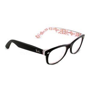 ray ban wayfarer quelle taille choisir  lunettes de vue ray ban wayfarer 5184 noir taille : m s