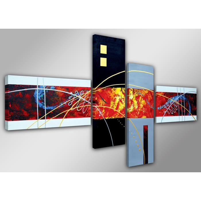 Tableau moderne imprim 160x70 cm abstrait achat vente tableau toile - Tableau moderne discount ...