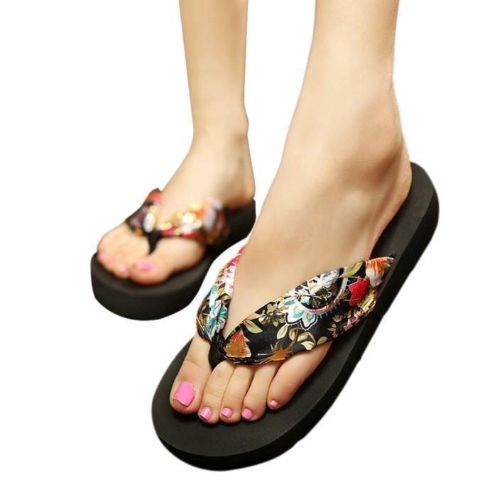 tong femme sandales et chaussure de plage nu pieds style. Black Bedroom Furniture Sets. Home Design Ideas