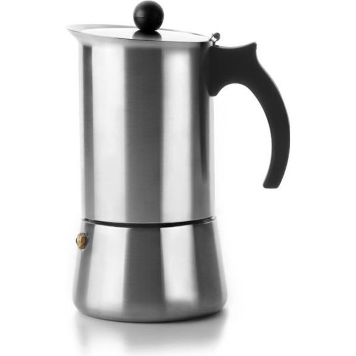 cafetiere italienne inox 2 tasses achat vente cafeti re th i re cdiscount. Black Bedroom Furniture Sets. Home Design Ideas