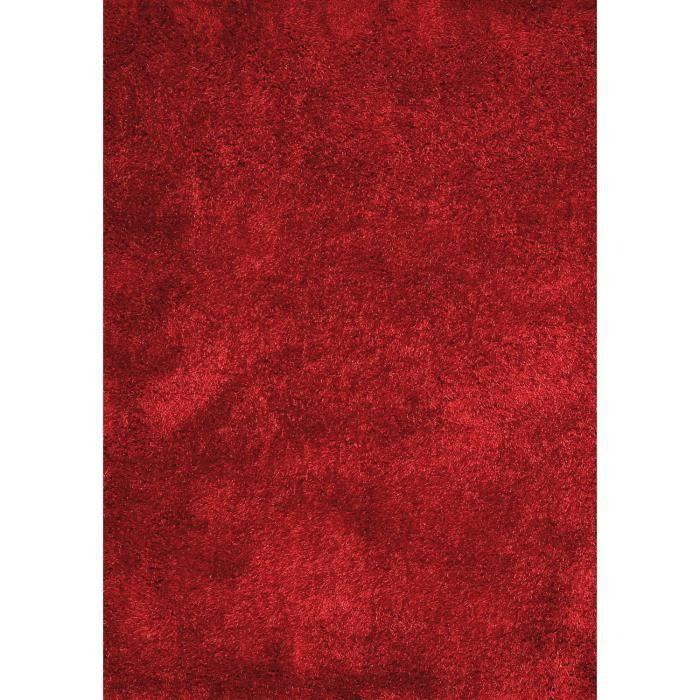 boost rouge 120x170 par papilio tapis shaggy a poils long achat vente tapis cdiscount. Black Bedroom Furniture Sets. Home Design Ideas
