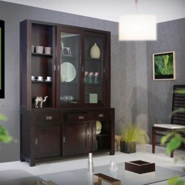 vaisselier haut en acajou 150 klaten achat vente vaisselier living vaisselier haut en. Black Bedroom Furniture Sets. Home Design Ideas