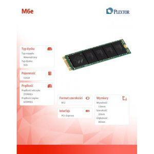 PLEXTOR M.2 PCIE SSD 512GB (PX-G512M6E)
