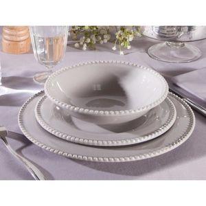 service de table gris