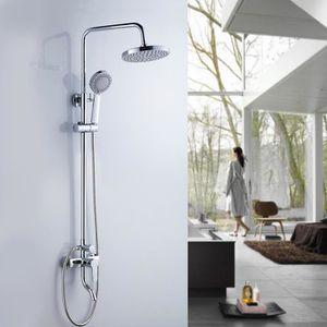 colonne bain douche achat vente colonne bain douche pas cher cdiscount. Black Bedroom Furniture Sets. Home Design Ideas
