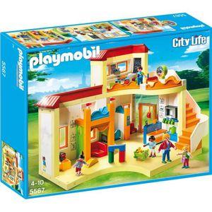 juniors jeux et jouets par type playmobil city life la garderie l