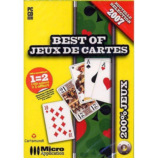 best of jeux de cartes pc cd rom achat vente jeu pc best of jeux de cartes cdiscount. Black Bedroom Furniture Sets. Home Design Ideas