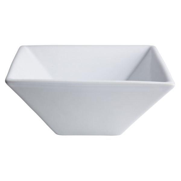 lave mains carr en c ramique blanc achat vente vier 161002 lave mains carr cdiscount. Black Bedroom Furniture Sets. Home Design Ideas