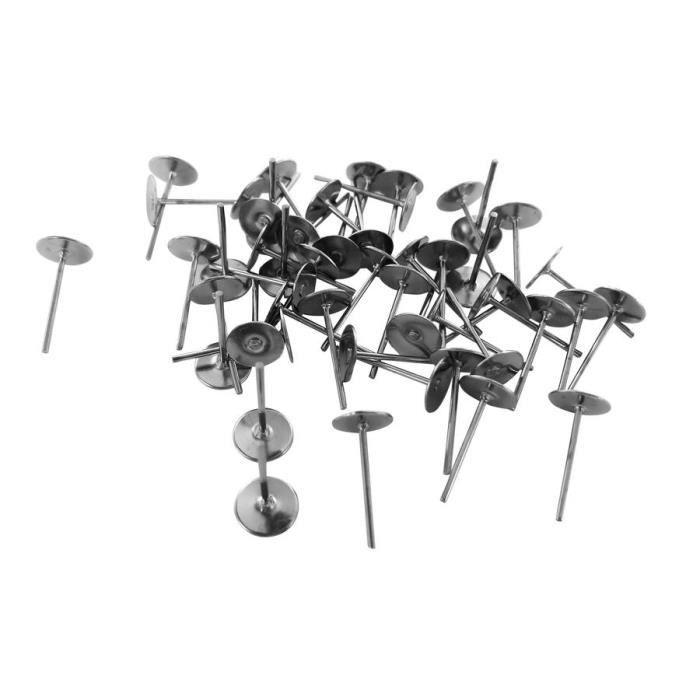 Lot 10 support attaches boucles d 39 oreilles clou achat - Support pour boucles d oreilles ...