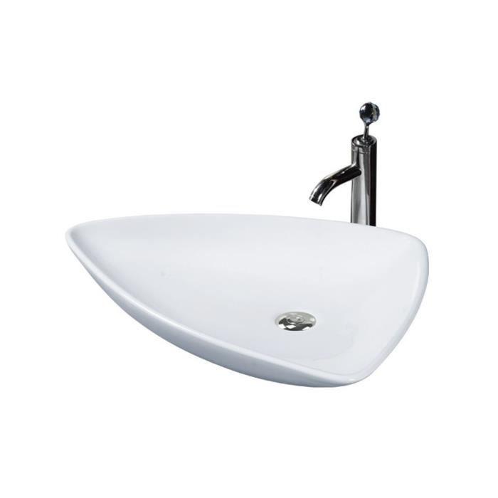 Vasque poser goudi achat vente lavabo vasque vasque poser goudi cdiscount - Vasque a poser occasion ...