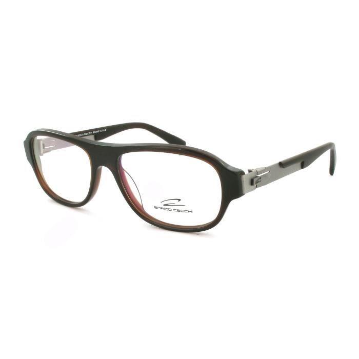 lunettes de vue pour homme enrico cecchi ec321 achat vente lunettes de vue lunettes de. Black Bedroom Furniture Sets. Home Design Ideas