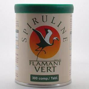 Spiruline flamant vert 300 comprim s achat vente - Spiruline flamant vert 1000 comprimes ...