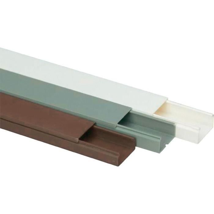 passe c bles heidemann 09956 gris 30x15 2m achat vente goulotte cache fil cdiscount. Black Bedroom Furniture Sets. Home Design Ideas