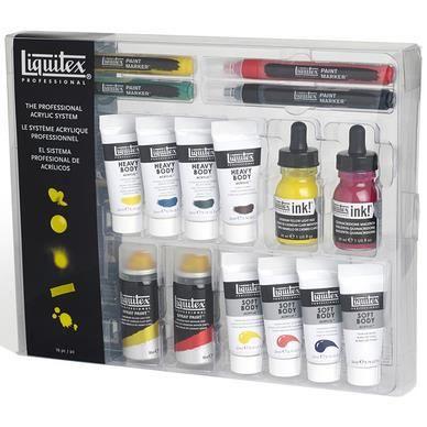 Coffret mélange peinture Liquitex - Achat / Vente peinture acrylique Coffret peinture Liquitex ...