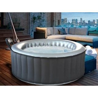 Spa gonflable silver cloud light rond 4 places achat vente spa complet - Spa gonflable discount ...