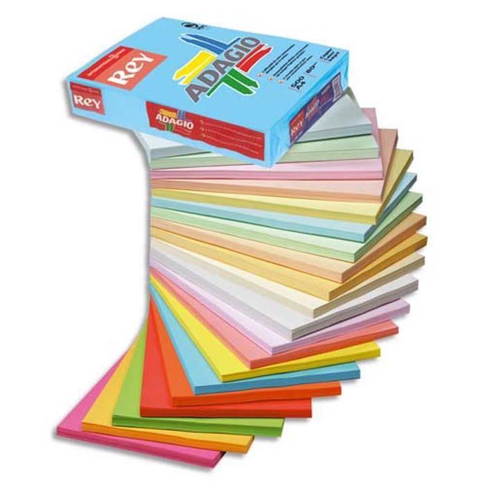 ramette de 250 feuilles papier couleur vive adagio bleu vif a4 160g prix pa. Black Bedroom Furniture Sets. Home Design Ideas