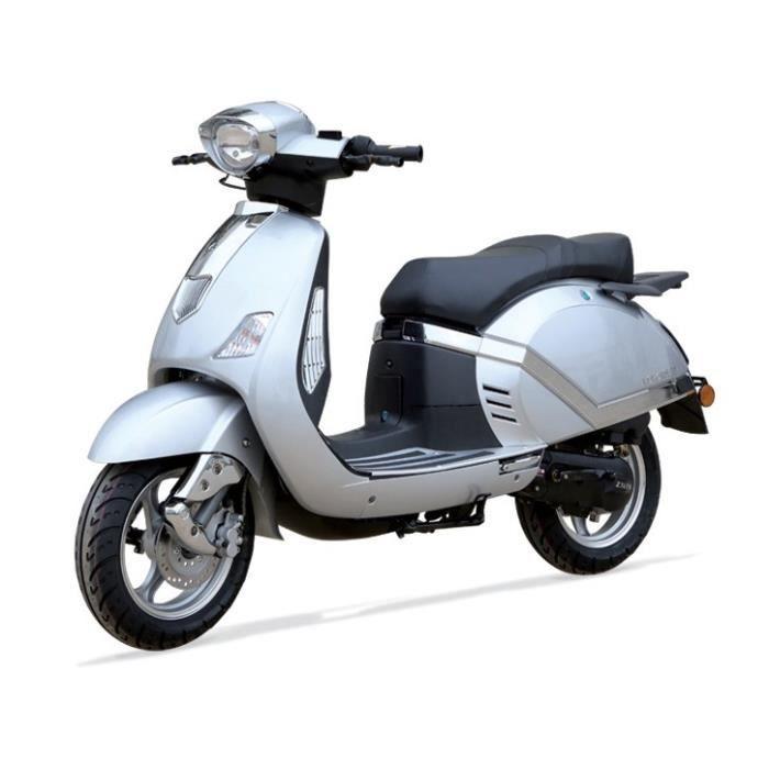 scooter verona 50 gris type vespa achat vente scooter scooter verona 50 gris cdiscount. Black Bedroom Furniture Sets. Home Design Ideas