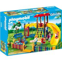 UNIVERS MINIATURE PLAYMOBIL 5568  Square pour Enfants avec Jeux