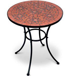 Table de jardin en mosaique achat vente table de - Table de jardin en mosaique marocaine ...
