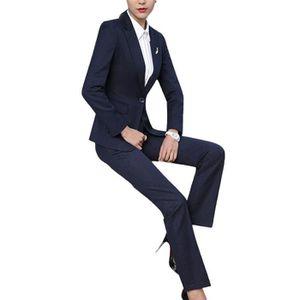 ensemble veste pantalon femme achat vente ensemble veste pantalon femme pas cher cdiscount. Black Bedroom Furniture Sets. Home Design Ideas