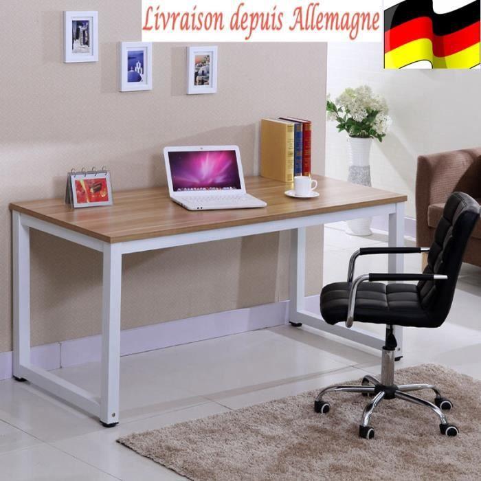 meuble ordinateur bois achat vente meuble ordinateur bois pas cher cdiscount. Black Bedroom Furniture Sets. Home Design Ideas